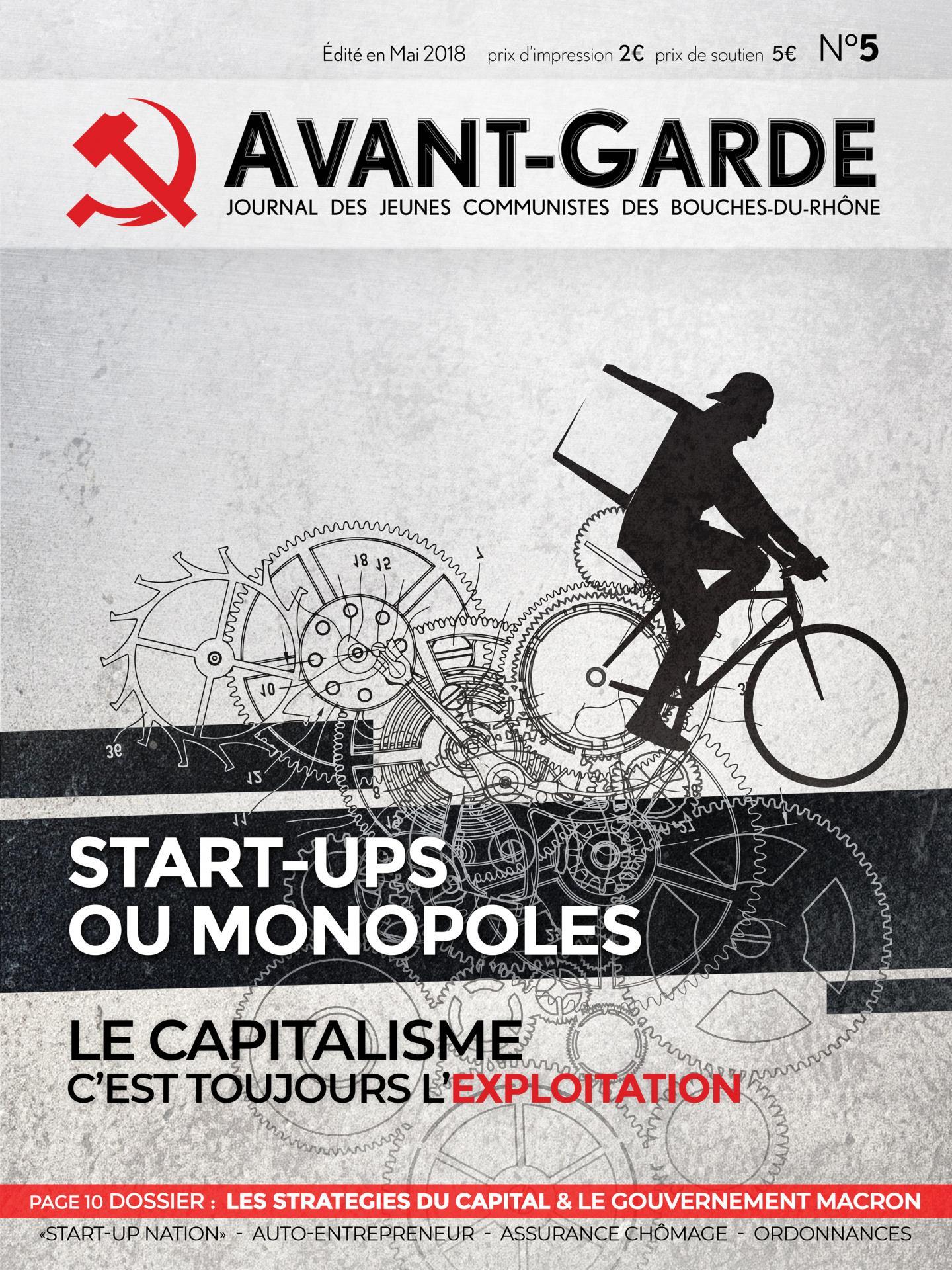 Avant-Garde Mai 2018 - 1