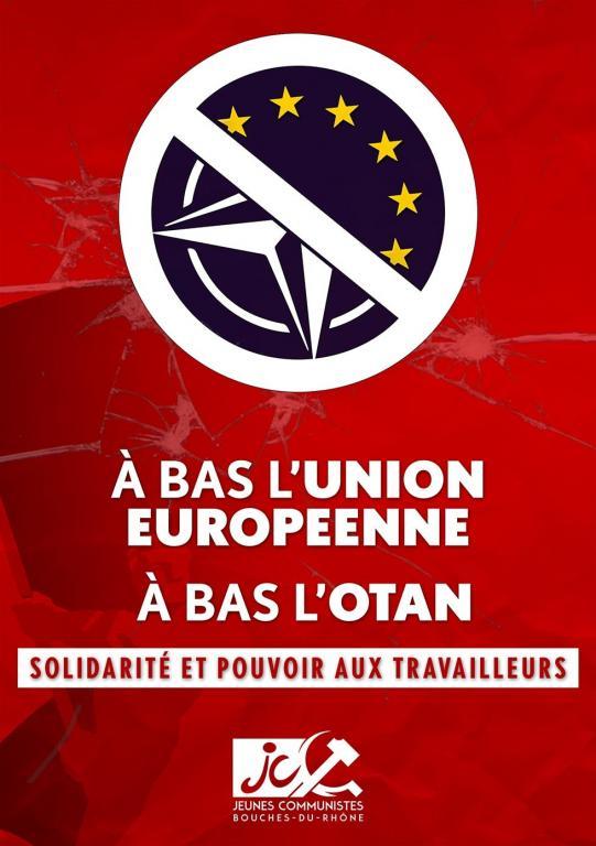 A bas l'UE, à bas l'OTAN