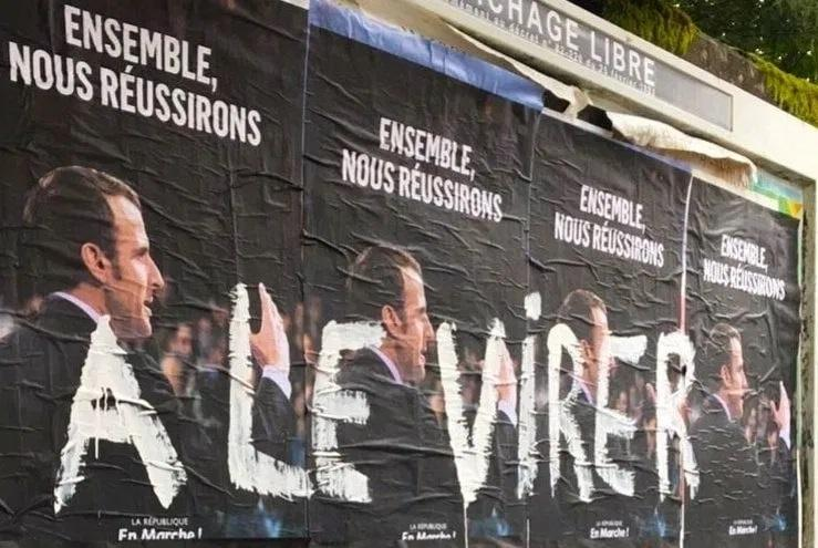 Macron virer