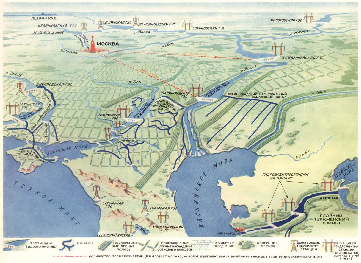 Plan vert sovietique